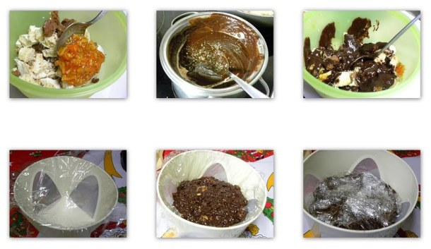 collage Gateau with leftover cookies image