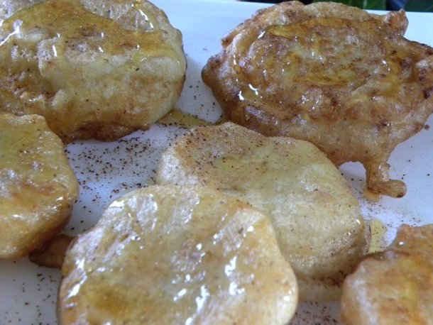 Apple Xerotigana Fritters image