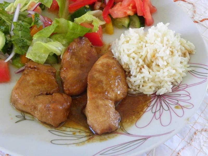 Orange Infused Teriyaki Chicken