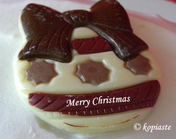 Chocolate ornament English