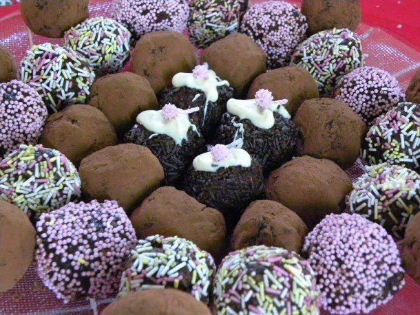 Truffles from leftovers picture