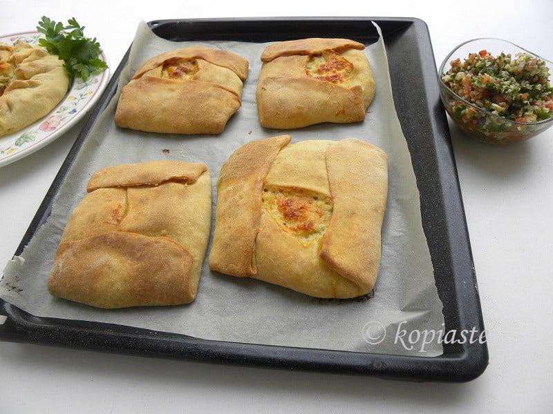 Turkey galette rectangular