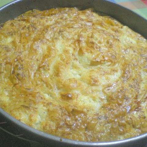 Patsavouropita (the easiest Greek Tyropita - Cheese Pie)