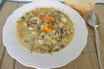 Vegetable and Kotopoulo Trahanas Soup and How to self publish an e-cookbook on Amazon