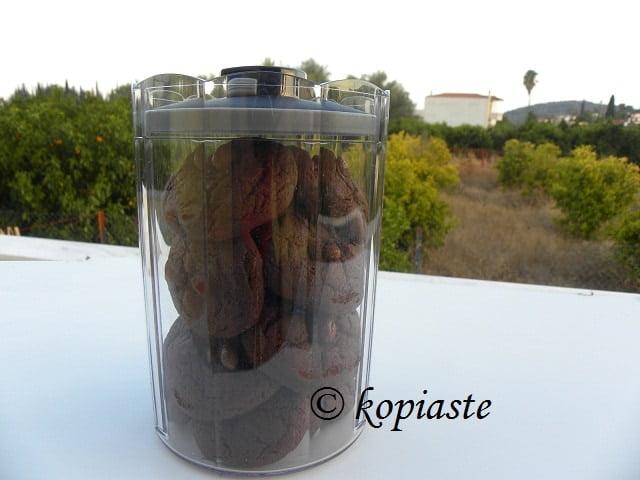 Chocolate cookies giveaway