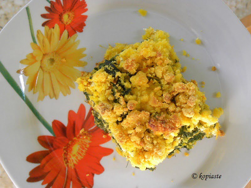 cornmeal-crumble-with-spinach-butternut-squash-and-feta