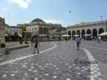 Monastiraki square image