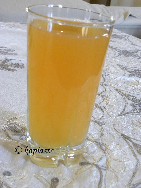 Peach and Apricot Ice Tea image