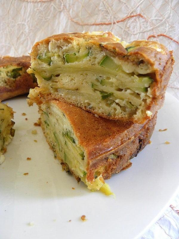 Zucchini and Potato Cake image