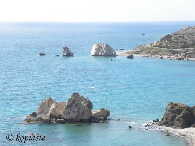 Petra tou Romiou and Saracens rock