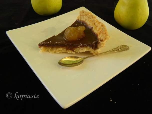 Chocolate and Apple tart