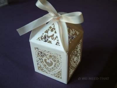 Weddin favour box