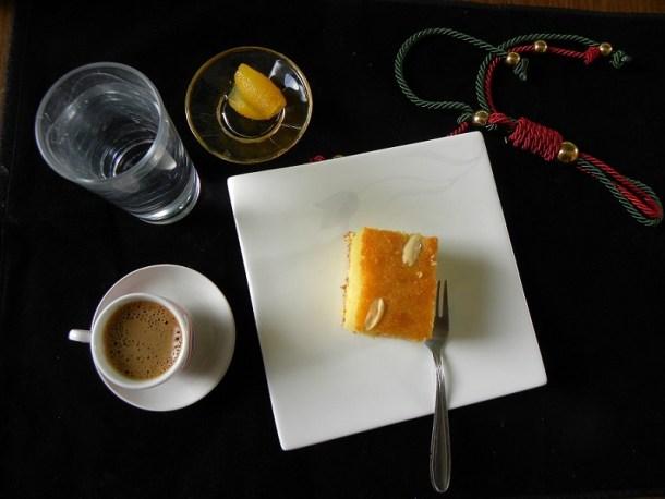Olive oil revani with bergamot image