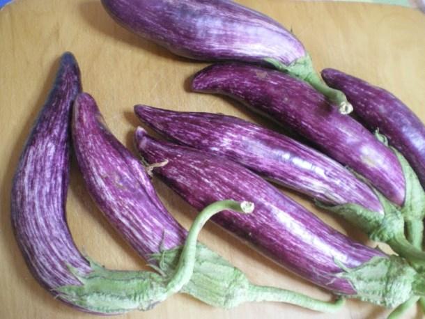 Melitzanes tsakonikes (eggplants) image