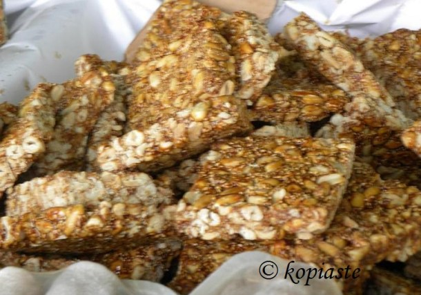 Honey Pastelli 2 with nuts