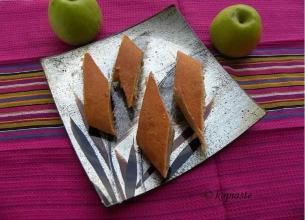 Apple and Tahini bread