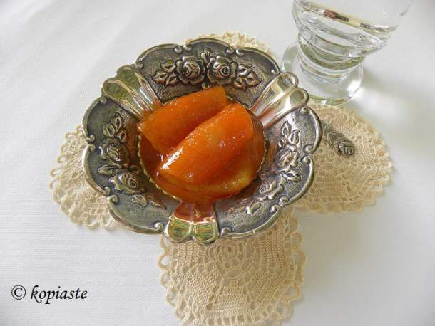 Glyko portokali only peels