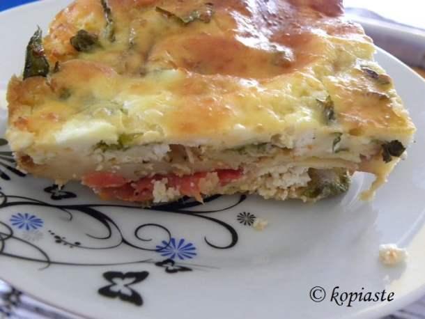 Chaniotiko Boureki served as a main dish image