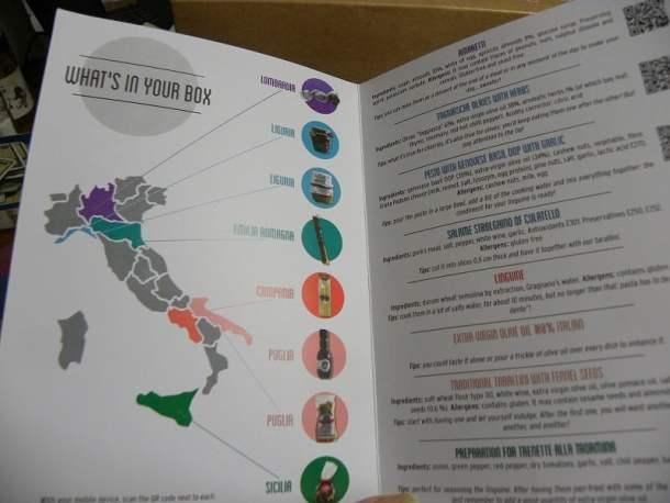 γεύσεις της Ιταλίας