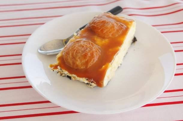 Apricot Oreo Tart image