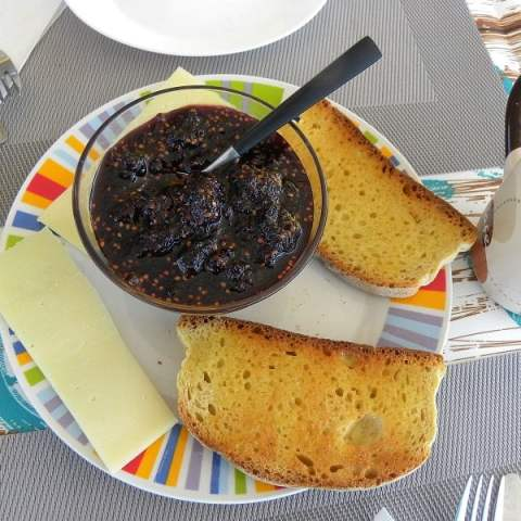 Mulberry Lavender Jam with Honey