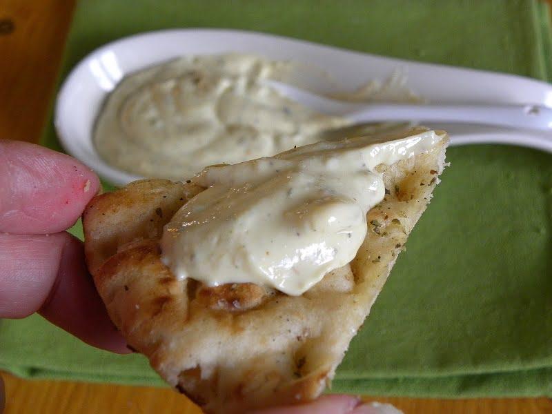 tahini yoghurt mayonnaise image