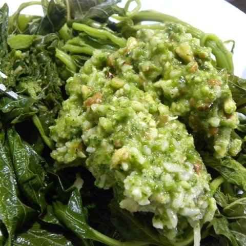 Peppermint and Basil Pesto