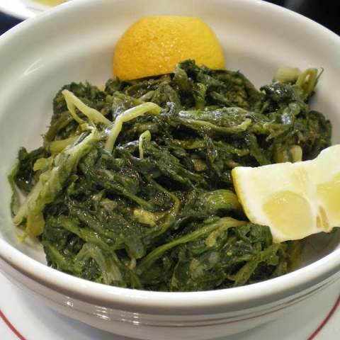 Vlita Salad (Amaranth Greens) and How to Serve Them