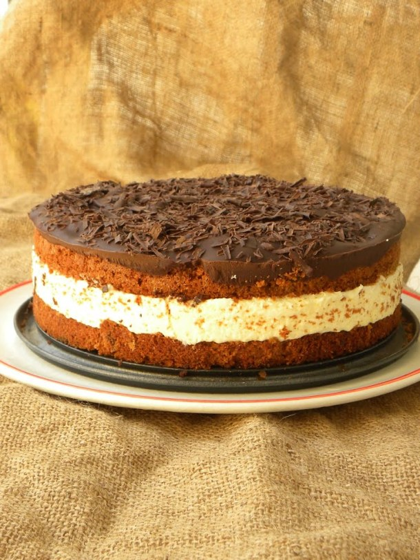 Bounty cake chocolate coconut cake image