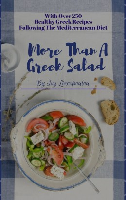 My cookbooks kopiaste greek hospitality book cover more than a greek salad image forumfinder Gallery