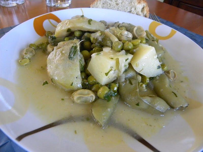 Koukia, Fava Beans, the Greek way