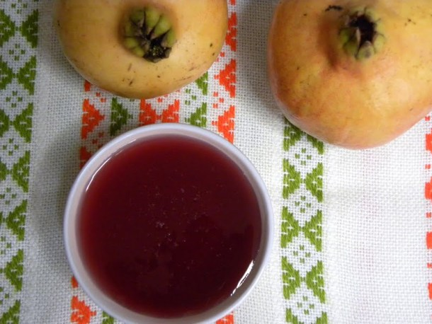 Pomegranate syrup photo