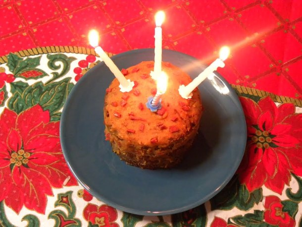 ias Cake with candles image