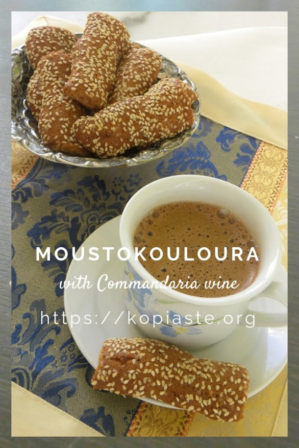 collage Moustokouloura with commandaria image