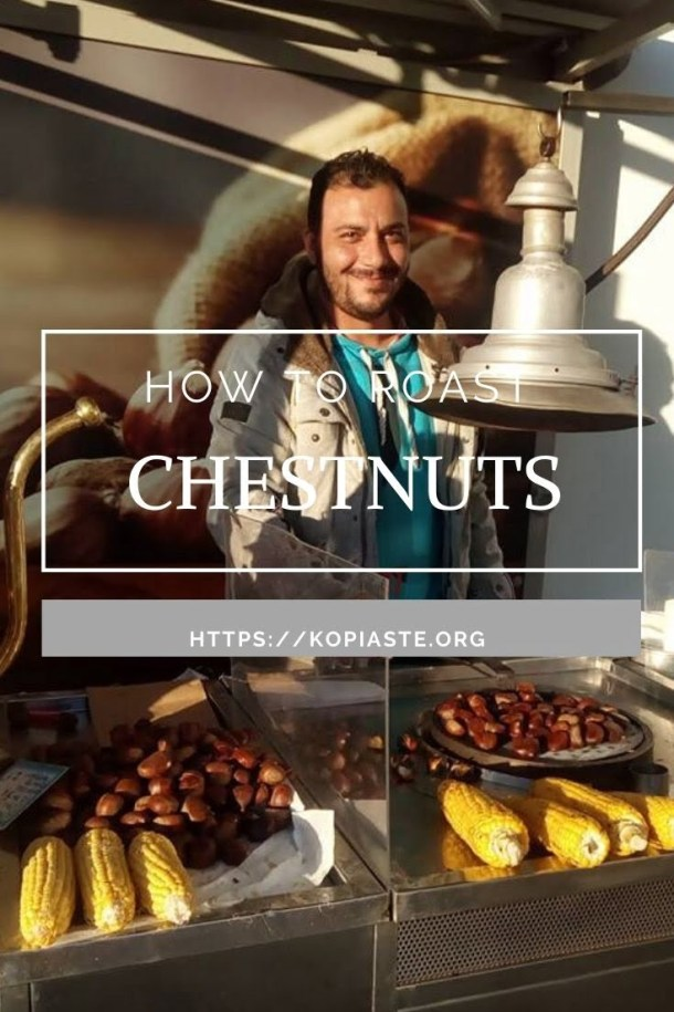 Collage how to roast chestnuts image