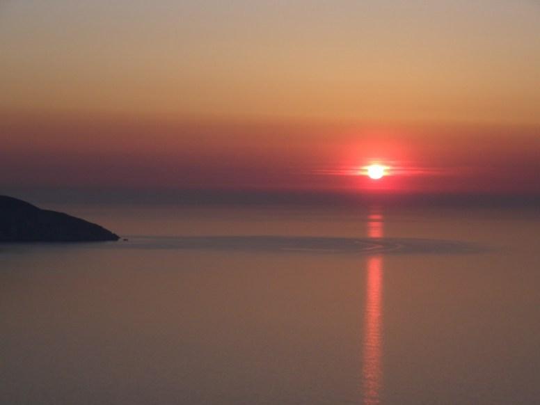 Sunset in Kefalonia