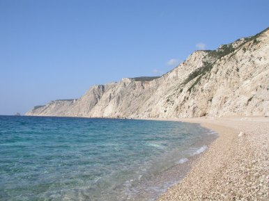 Platia Ammos - fantastic blue waters and amazing sunset views!