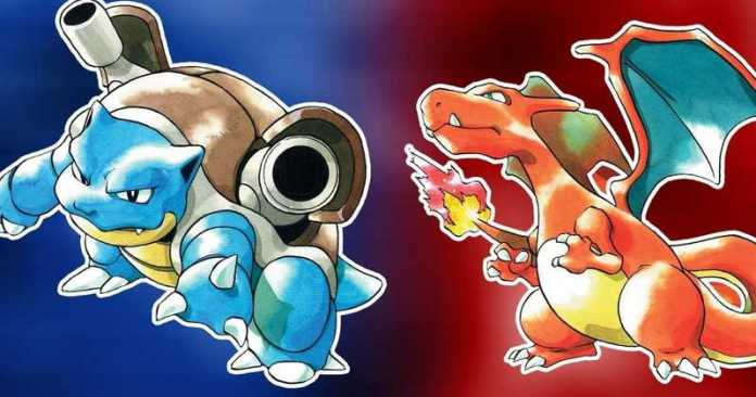Pokemon Red dan Blue