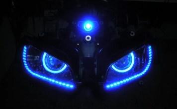 Merek Lampu LED Motor
