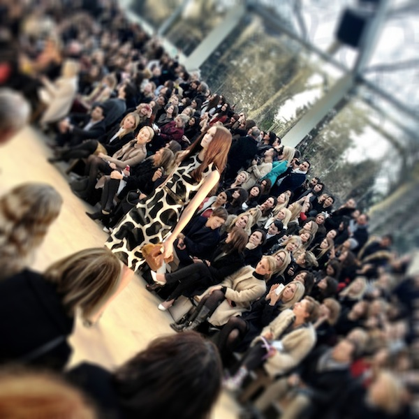 London Fashion Week - Trench Kisses