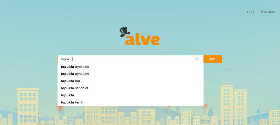 ALVE.COM Ana Sayfa Arama