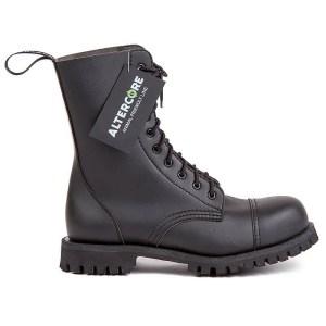 Boots Noires Vegan Micro Fibre