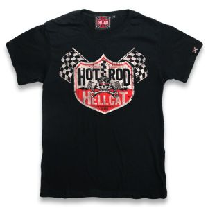 T-shirt Hot Rod Hellcat Decal Enfant Noir