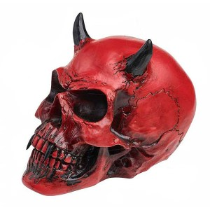 Crâne de Démon en Résine