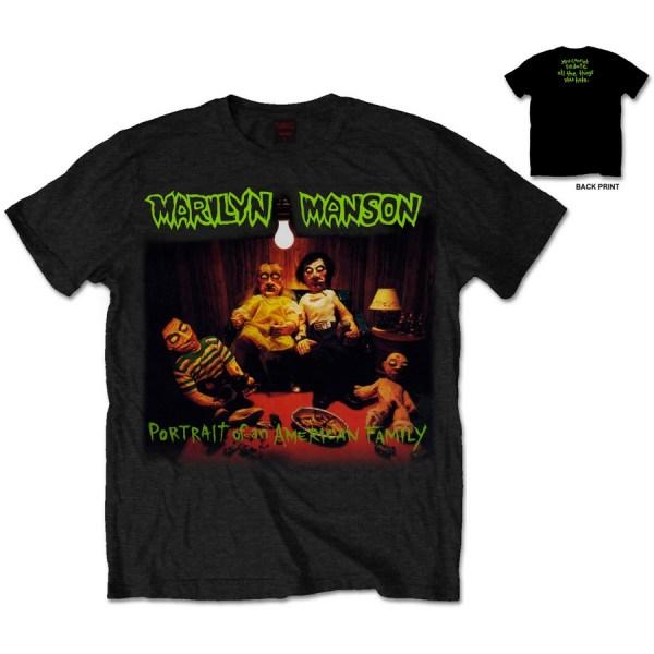 T-shirt Marilyn Manson American Family