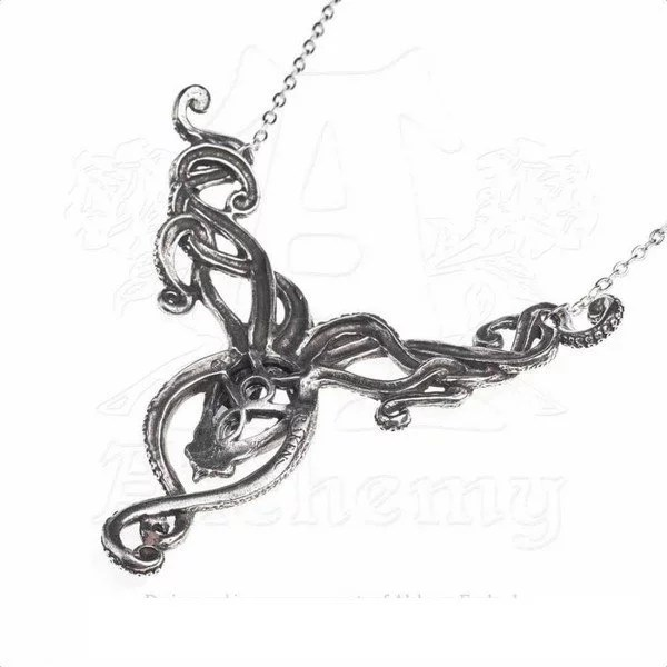 Collier pieuvre-kraken