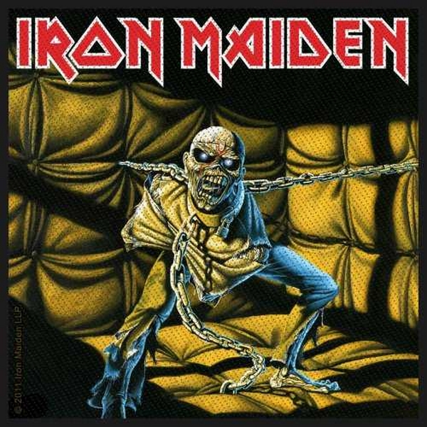 Patch Iron Maiden Piece of Mind Licence Officielle