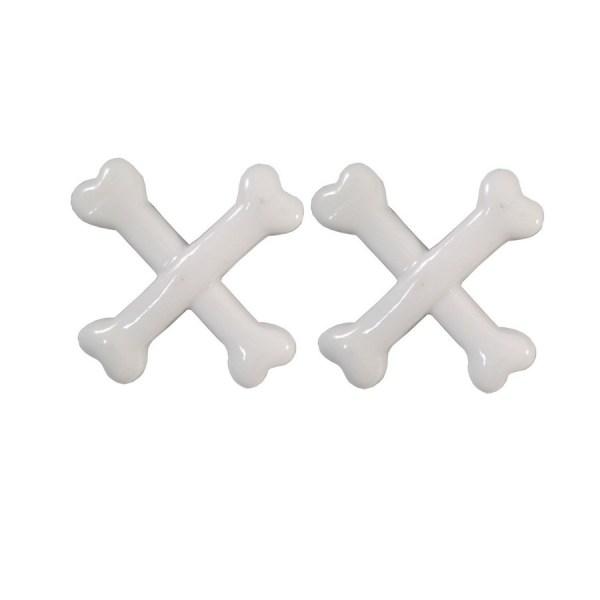 barrettes crossbones