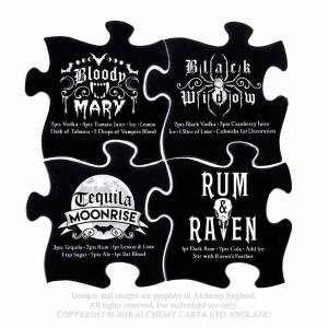 Puzzle Gothic cocktail