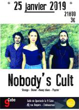 NOBODY'S CULT – Le 9Cube